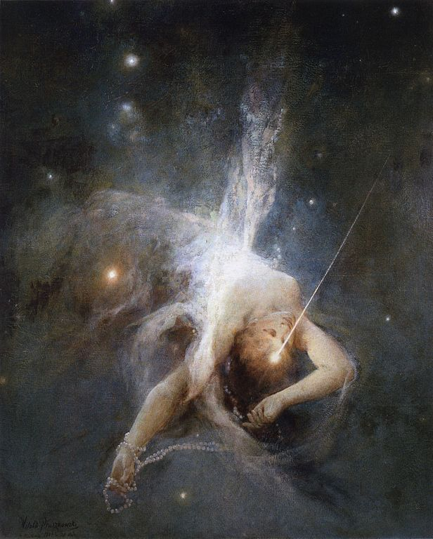 Falling Star - Witold Pruszkowski, 1884