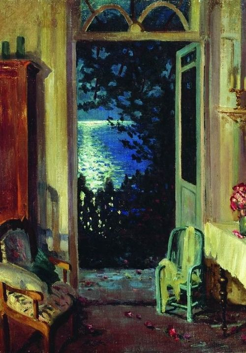 Sergei Vinogradov. Summer Night, 1915
