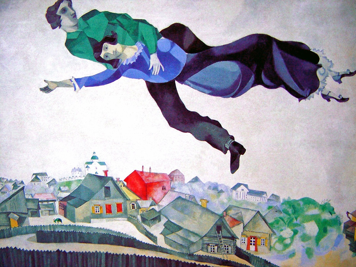 Marc Chagall, Over the town