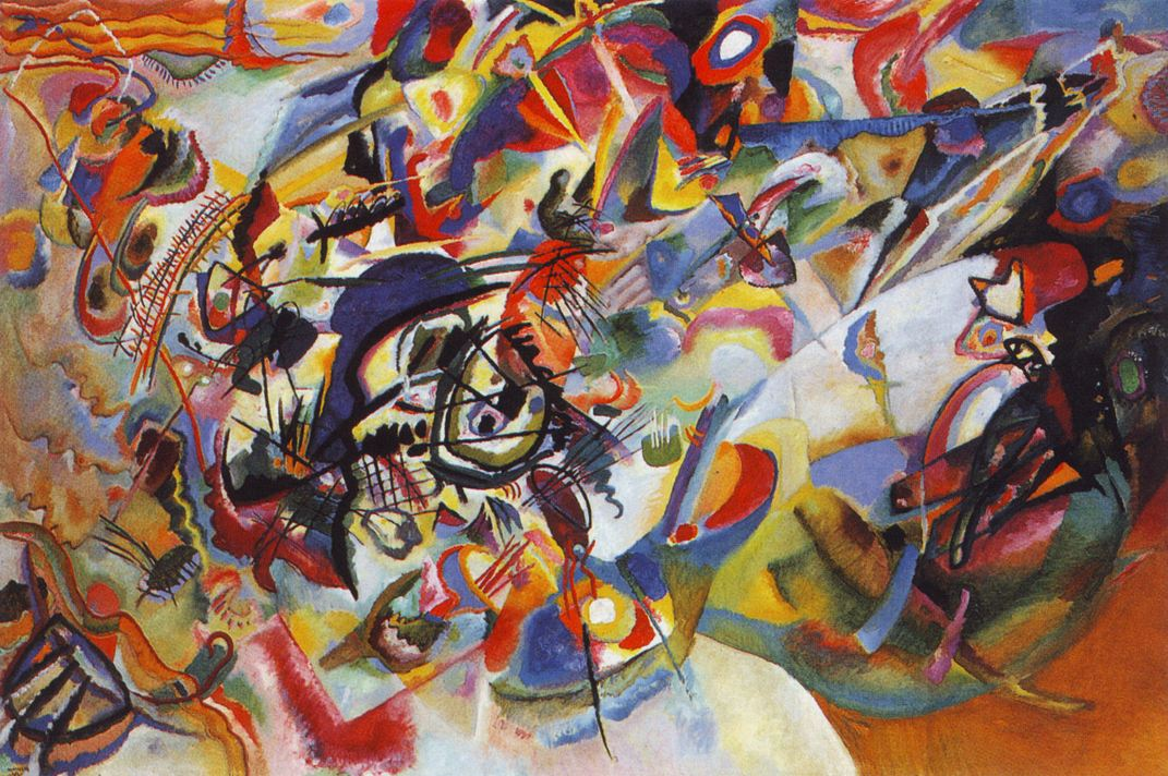 Kandinsky Composition VII, 1913