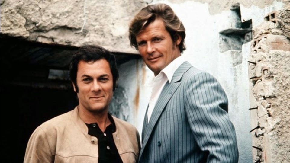 Roger Moore Tony Curtis 'Attenti a quei due'