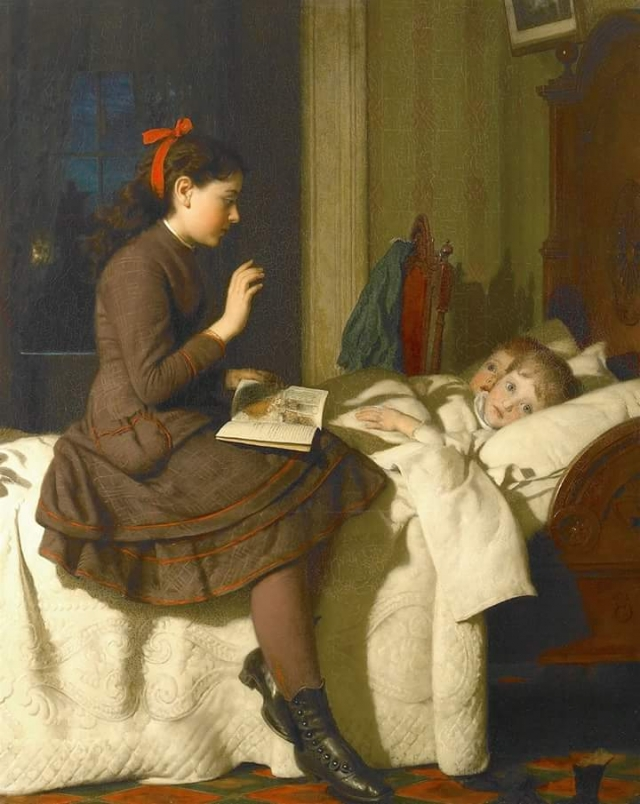 The bed time story by Seymour, Joseph Guy