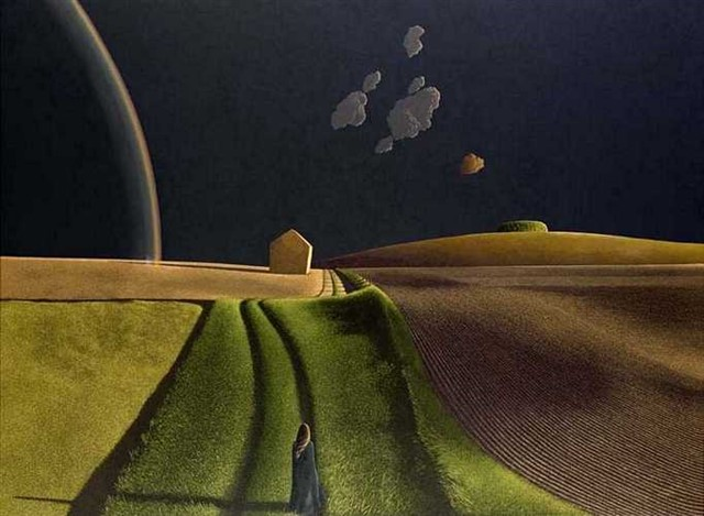 David Inshaw. She did turn, 1974