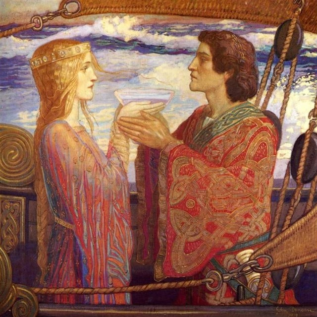 Tristan and isolde 1912 - John Duncan 1866-1945