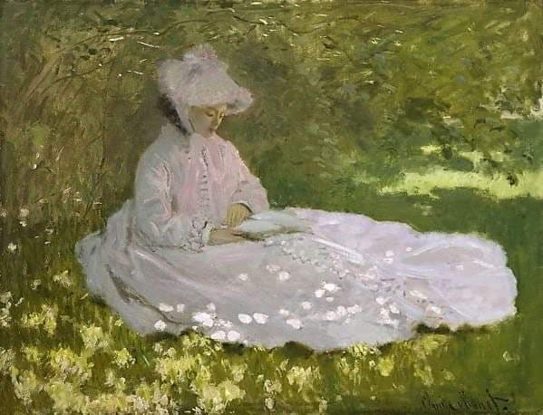 Claude Monet - Primavera, 1872 - Walters Art Museum, Baltimora