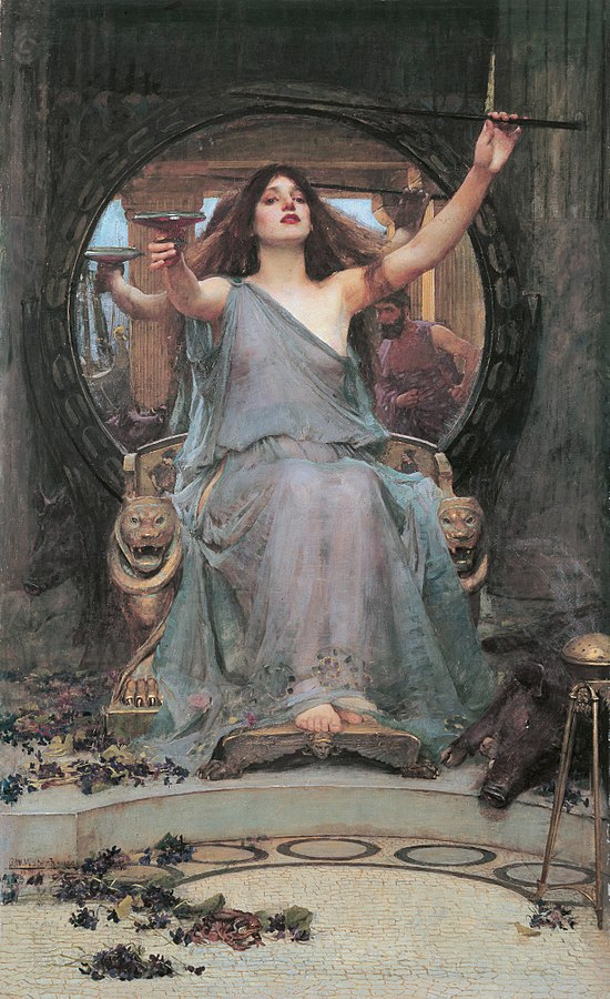 John William Waterhouse - Circe Offering-the Cup-to Ulysses
