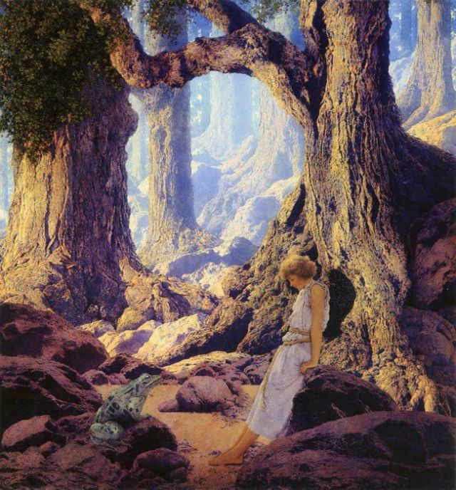 Maxfield Parrish - Enchanted Prince