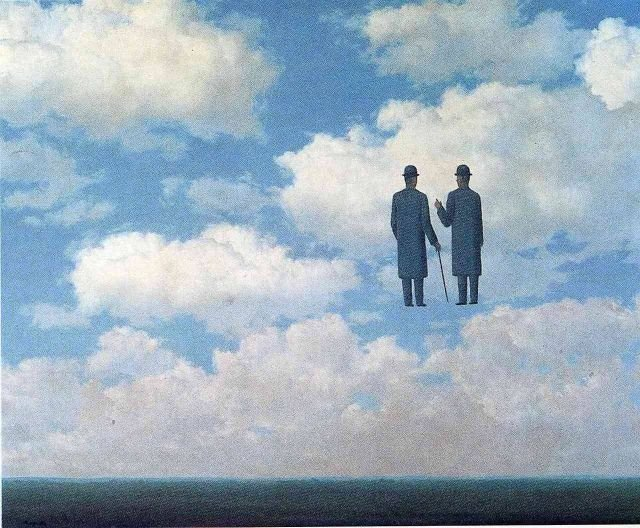 The infinite recognition, 1963, Rene Magritte