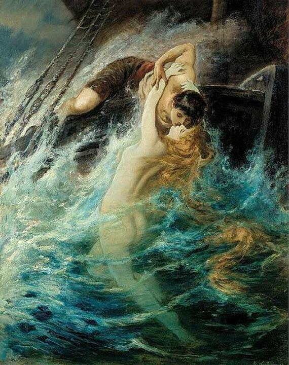 Gustave Wertheimer - The kiss of the siren