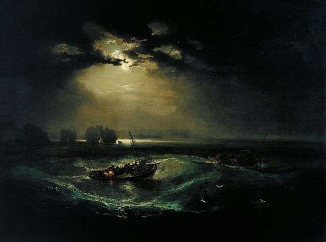 Joseph Mallord William Turner - Fishermen at Sea
