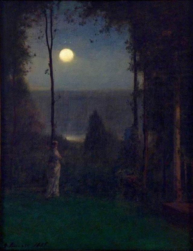 Moonlight (1885) - George Inness