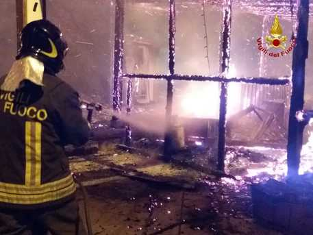 Incendio in Sila, morto presunto autore