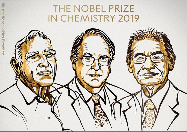 Nobel per la Chimica a Goodenough, Whittingham e Yoshino