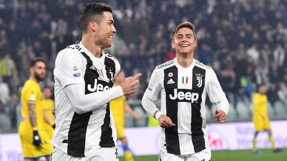 Serie A, Juventus-Frosinone 3-0